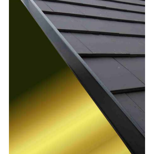 Continuous Dry Verge M Type Black 5m From European
