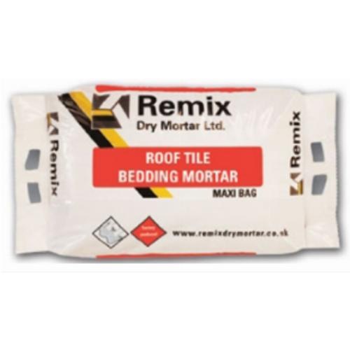 Remix 1 To 3 Roof Tile Bedding Mortar 20kg Maxi Bag Black
